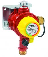 Автоматический переключающий клапан с регулятором давления. Тип AUV-ND